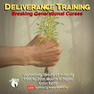 Deliverance Training Seminar 1
